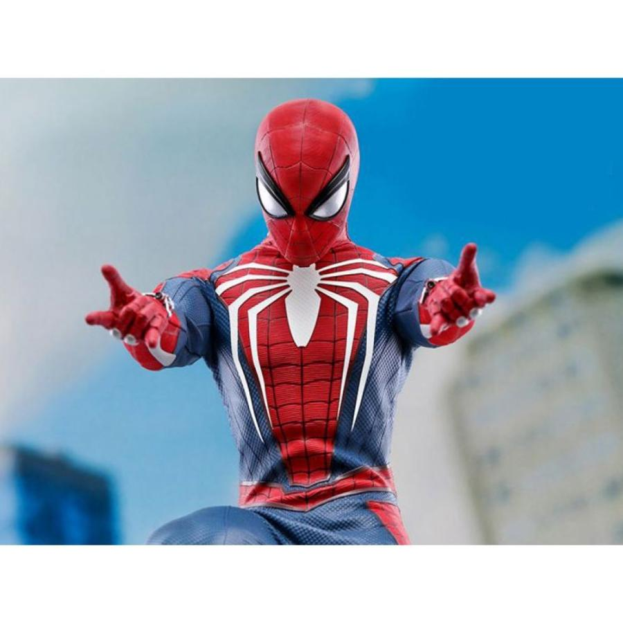 マーベル MARVEL フィギュア marvel's spider-man vgm31 spider-man (advanced suit) 1/6 scale collectible figure