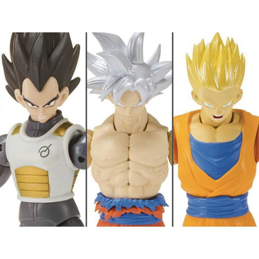 Dragon Ball Super Dragon Stars Wave 7 /& 8 Full Set of 6 Figures Broly Components
