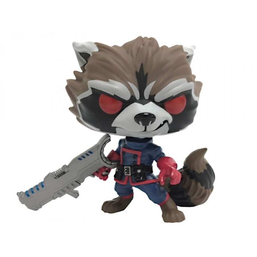 MARVEL フィギュア Pop! Marvel: Guardians of the Galaxy - Rocket Raccoon (Classic) PX Previews Exclusive