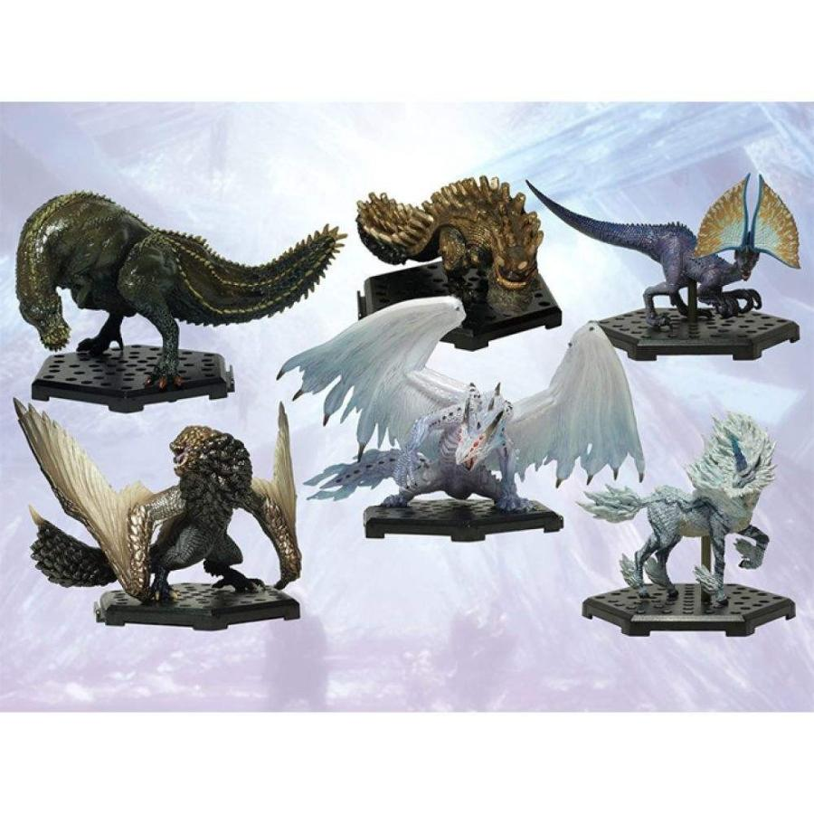 モンスターハンター MONSTER HUNTER フィギュア monster hunter figure builder standard model plus vol.12 box of 6 figures