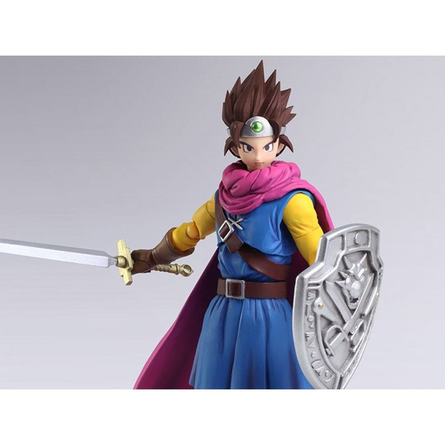 ドラゴンクエスト DRAGON QUEST フィギュア dragon quest iii: the seeds of salvation bring arts hero
