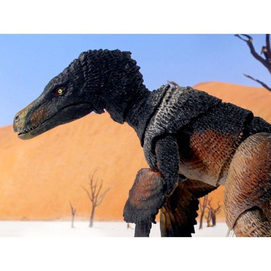 ビースト オブ ザ メソゾイック BEASTS OF THE MESOZOIC フィギュア beasts of the mesozoic: raptor series velociraptor mongoliensis (黒) deluxe figure