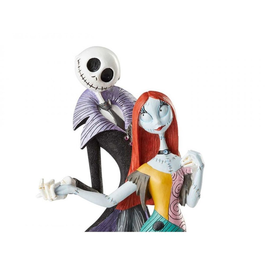 THE NIGHTMARE BEFORE CHRISTMAS DISNEY フィギュア The Nightmare Before Christmas Disney Showcase Jack & Sally Deluxe Figurine