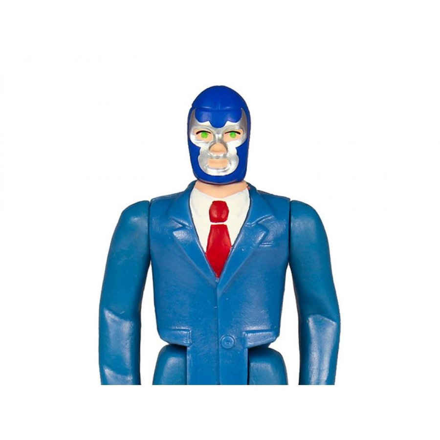 LEGENDS OF LUCHA LIBRE フィギュア legends of lucha libre reaction 青 demon jr. (with suit) figure