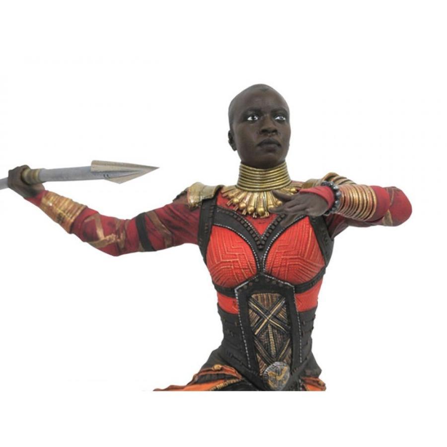 マーベル MARVEL フィギュア 黒 panther gallery okoye