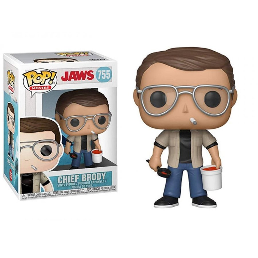 JAWS フィギュア Pop! Movies: Jaws - Chief Brody