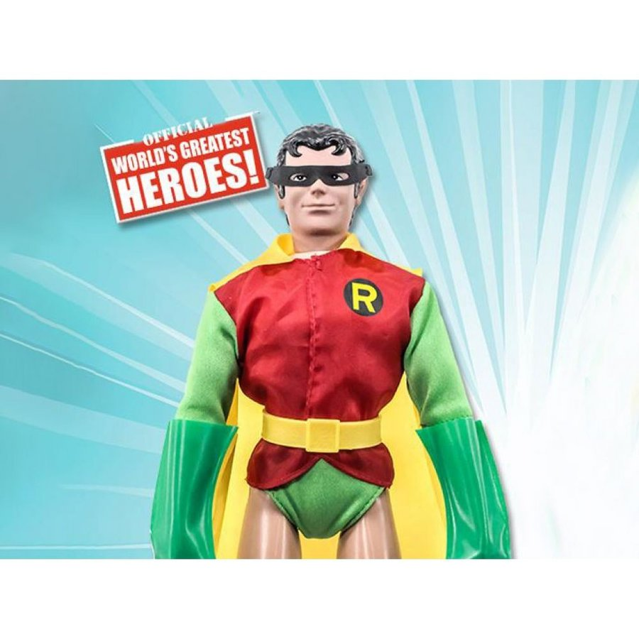 DC COMICS フィギュア DC World's Greatest Heroes Robin (Removable Mask) 12