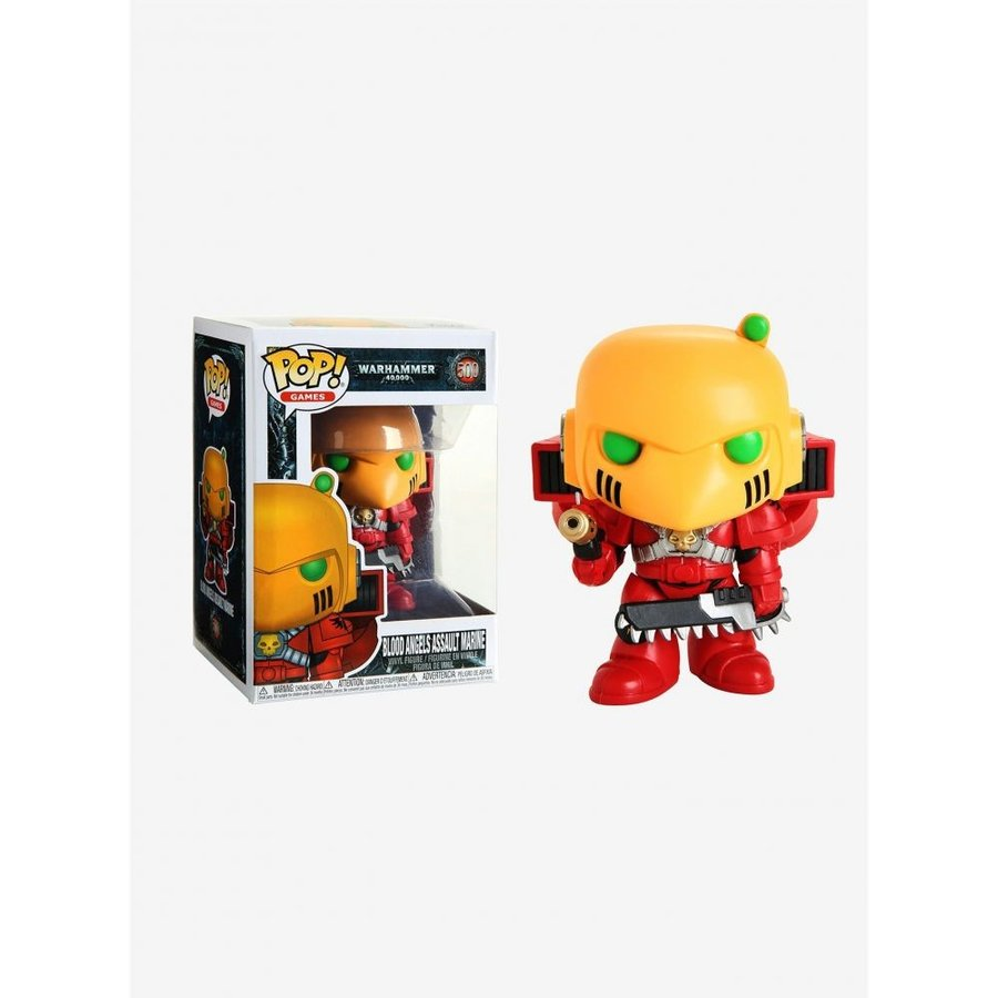 ファンコ Funko フィギュア Warhammer 40,000 Pop! Games Blood Angels Assault Marine Vinyl Figure