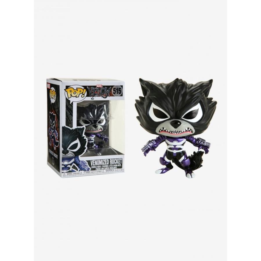マーベル Marvel フィギュア ボブルヘッド Funko Venom Pop! Venomized Rocket Vinyl Bobble-Head