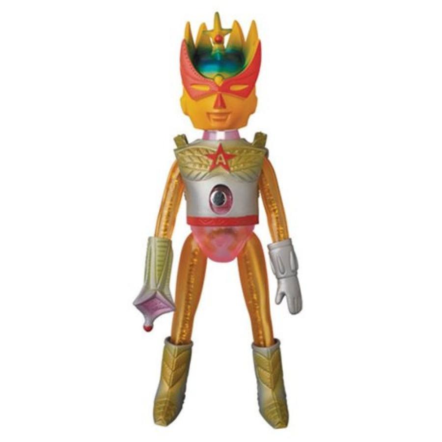 デザイナー アートトイズ Designer Art Toys フィギュア Ultra Action Boy Astro-Mu 5 ゴールドbeena Sofubi Vinyl Figure