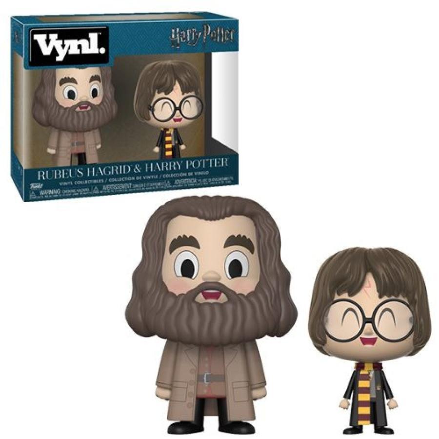 ハリー ポッター Harry Potter フィギュア and Hagrid Vynl. Figure 2-Pack