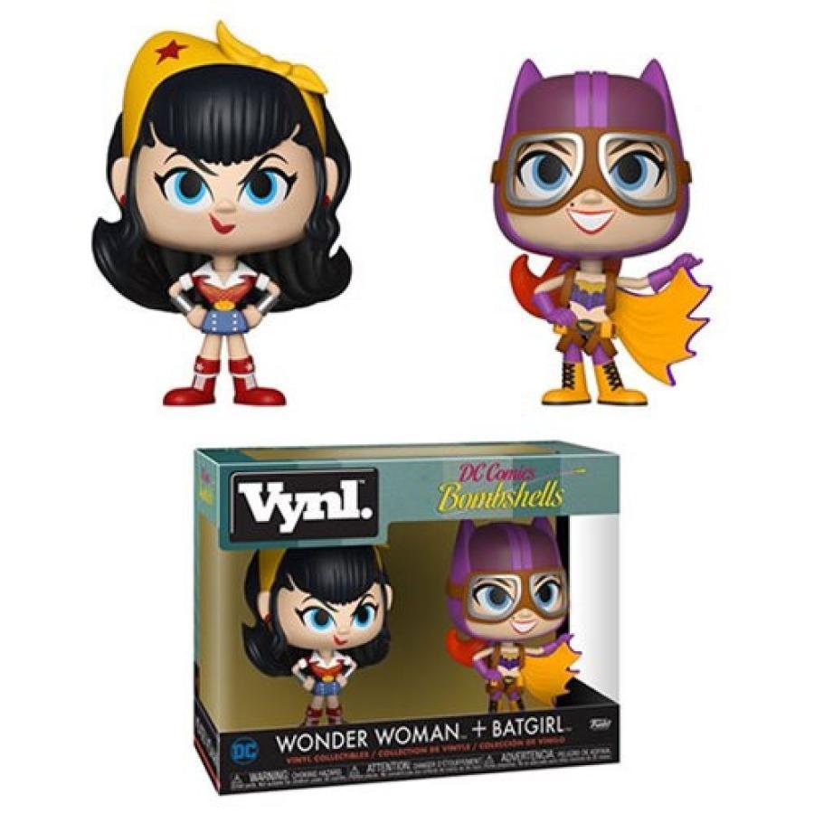 ディーシー コミックス DC Comics フィギュア DC Bombshells Wonder Woman and Batgirl Vynl. Figure 2-Pack