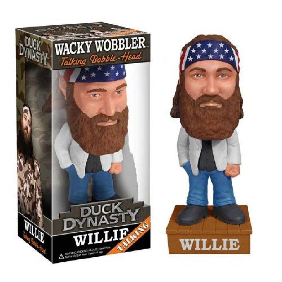 ダック ダイナスティ Duck Dynasty フィギュア Willie Robertson Talking Bobble Head