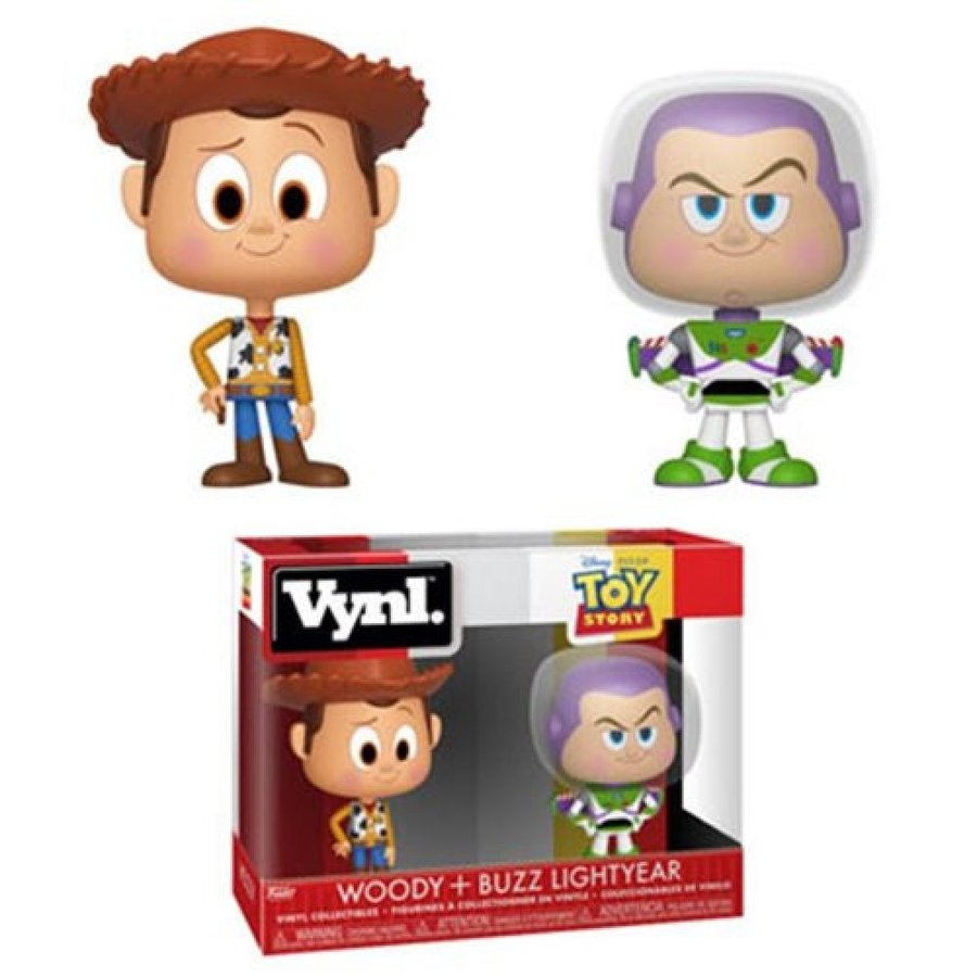 トイ ストーリー Toy Story フィギュア Woody and Buzz VYNL Figure 2-Pack