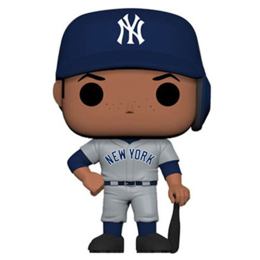 Baseball フィギュア MLB New York Yankees Aaron Judge New Jersey Pop! Vinyl Figure