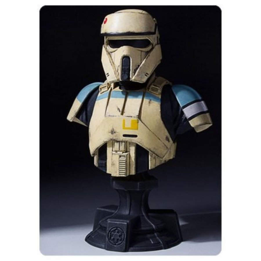 スターウォーズ Star Wars グッズ Scarif Shoretrooper Classic Mini-Bust