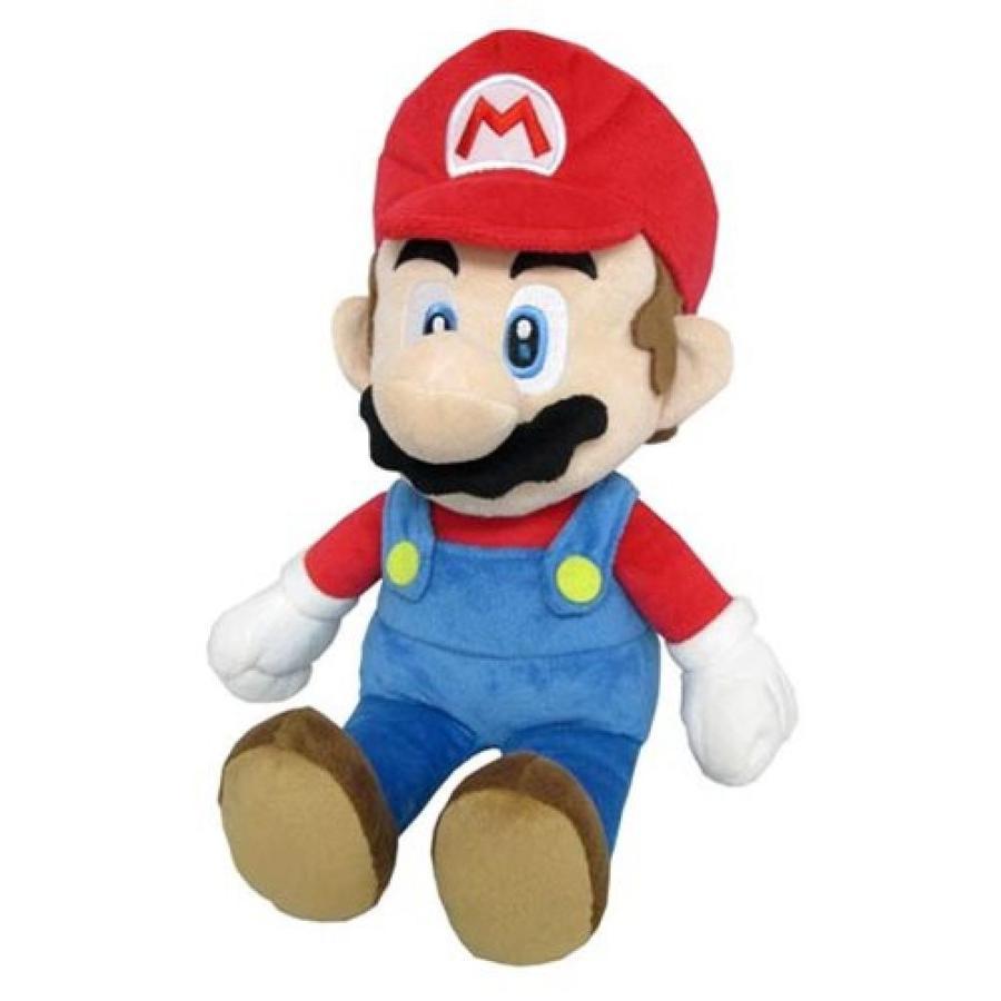 スーパーマリオ Super Mario Bros. ぬいぐるみ・人形 Mario 14-Inch Plush