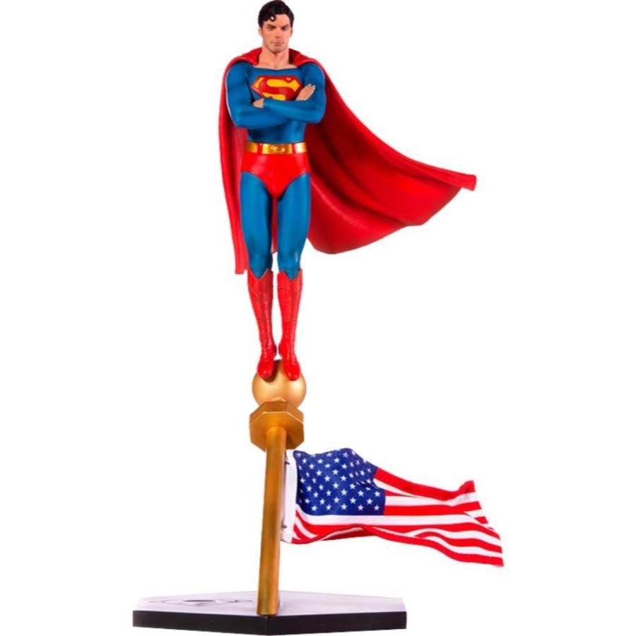 スーパーマン Superman 彫像・スタチュー : The Movie (1978) Deluxe Art Scale 1/10 Statue