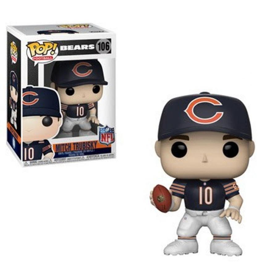 NFL フィギュア ビニールフィギュア Chicago Bears POP! Sports Mitch Trubisky Vinyl figure