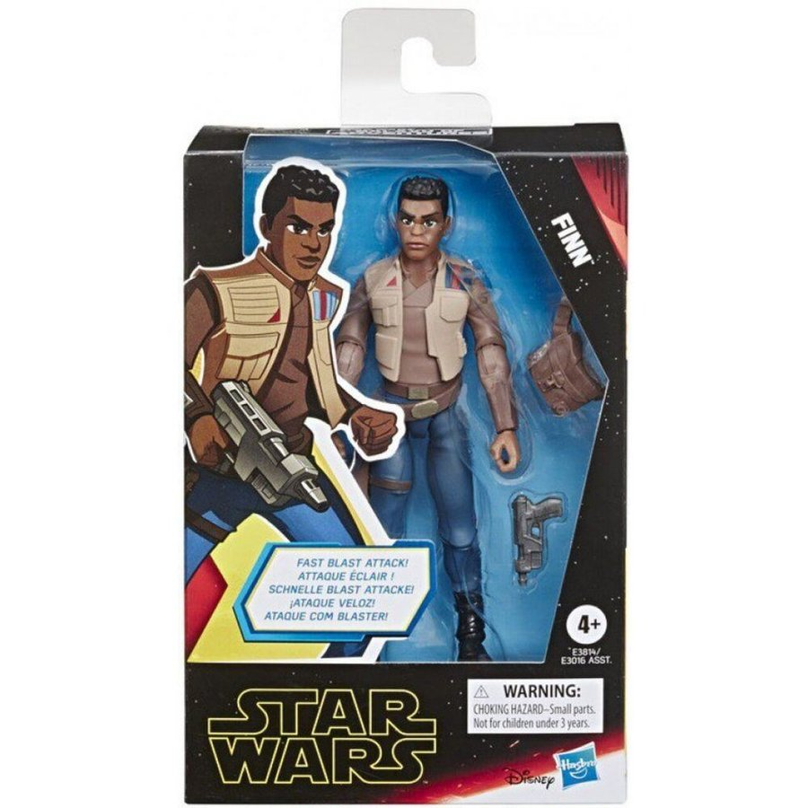 フィン Finn フィギュア Star Wars The Rise of Skywalker Galaxy of Adventures Action Figure