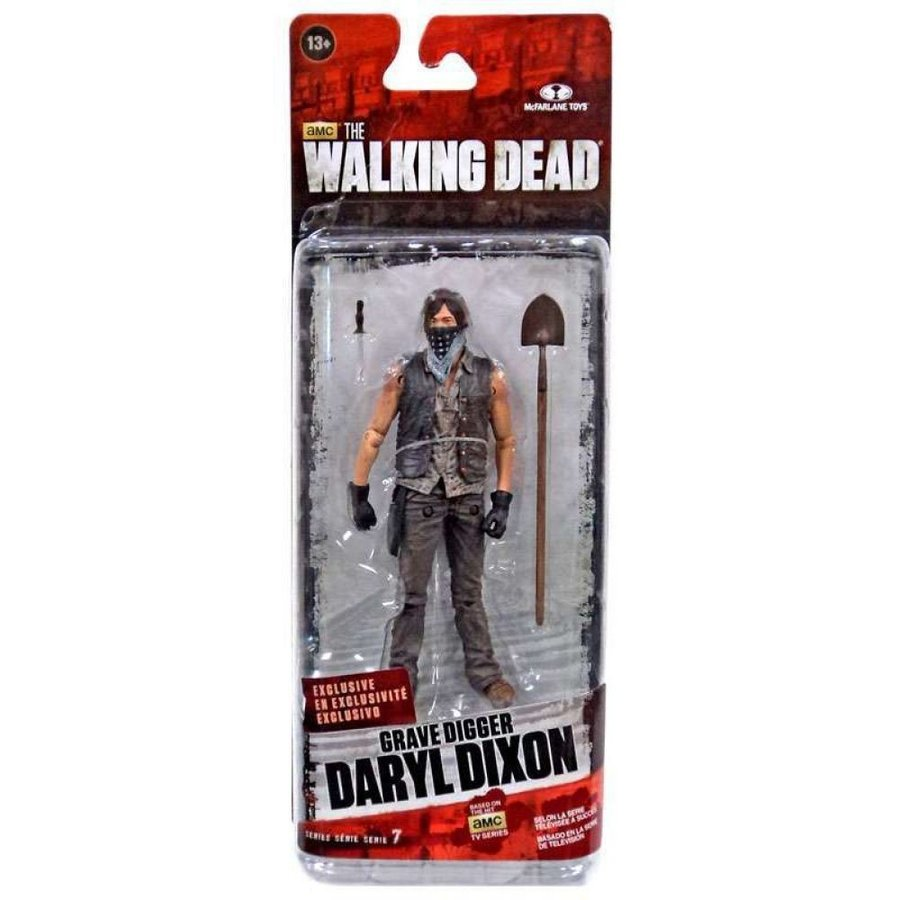 ウォーキング デッド Walking Dead フィギュア The AMC TV Series 7.5 Grave Digger Daryl Dixon Action Figure [Season 4]