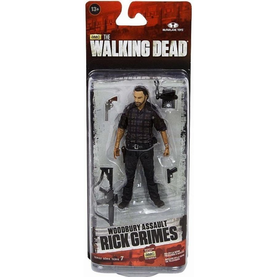 ウォーキング デッド Walking Dead フィギュア The AMC TV Series 7.5 Rick Grimes Action Figure [Woodbury Assault]