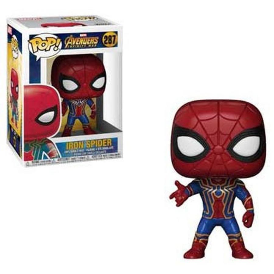 マーベル Marvel Universe フィギュア ビニールフィギュア Avengers Infinity War POP! Marvel Iron Spider Vinyl figure
