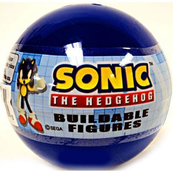 ソニック ザ ヘッジホッグ Sonic The Hedgehog フィギュア Gacha Buildable Figures Mini Figure [青 Bubble]