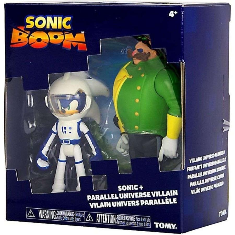 ソニック ザ ヘッジホッグ Sonic The Hedgehog フィギュア Sonic Boom (Spacesuit) Sonic & Parallel Universe Villain (Dr. Eggman) Action Figure 2-Pack