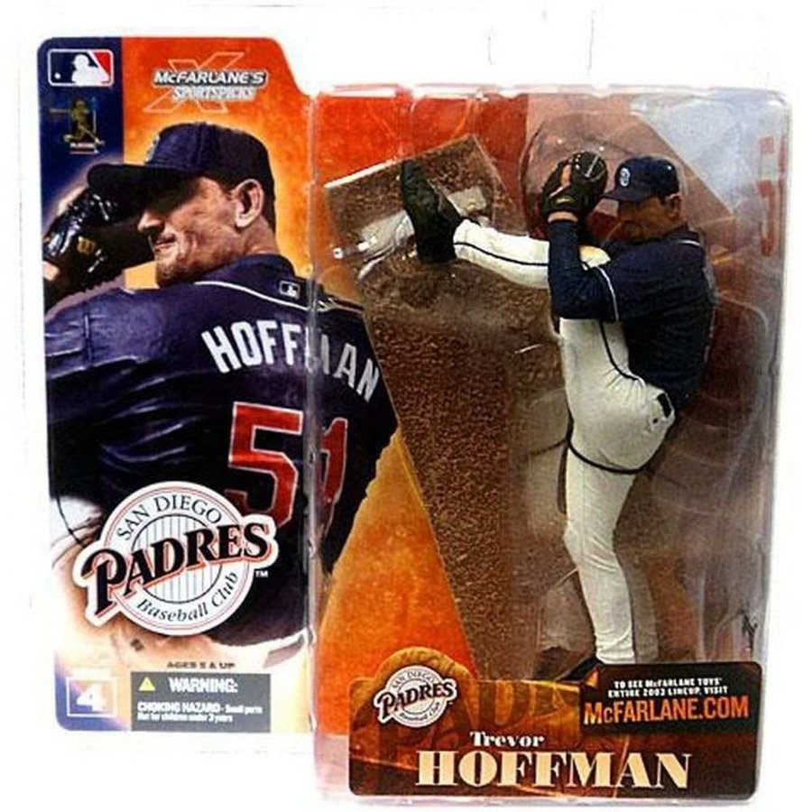 MLB フィギュア シリーズ4 San Diego Padres Sports Picks Series 4 Trevor Hoffman Action Figure [青 Jersey]