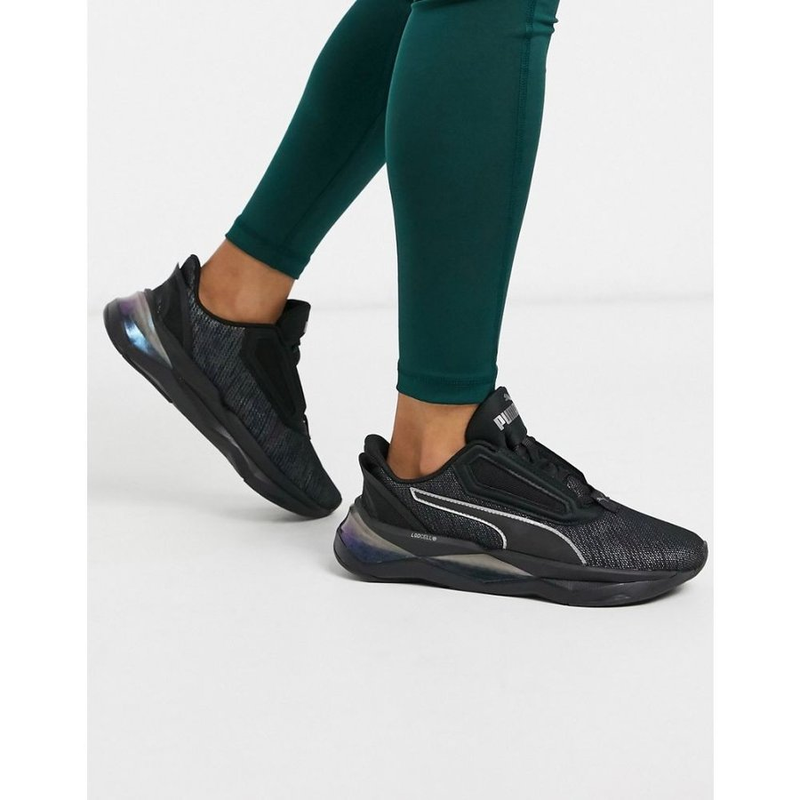 最新最全の プーマ Puma レディース スニーカー シューズ・靴 lqd cell shatter trainers in black metallic ブラック, mellow.store eb68a77a