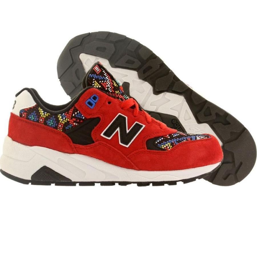 【メーカー公式ショップ】 ニューバランス New Balance レディース スニーカー シューズ Chaos・靴 580 レディース Capsule New Considered Chaos red/ black, ベルトイズム:e12e6688 --- levelprosales.com