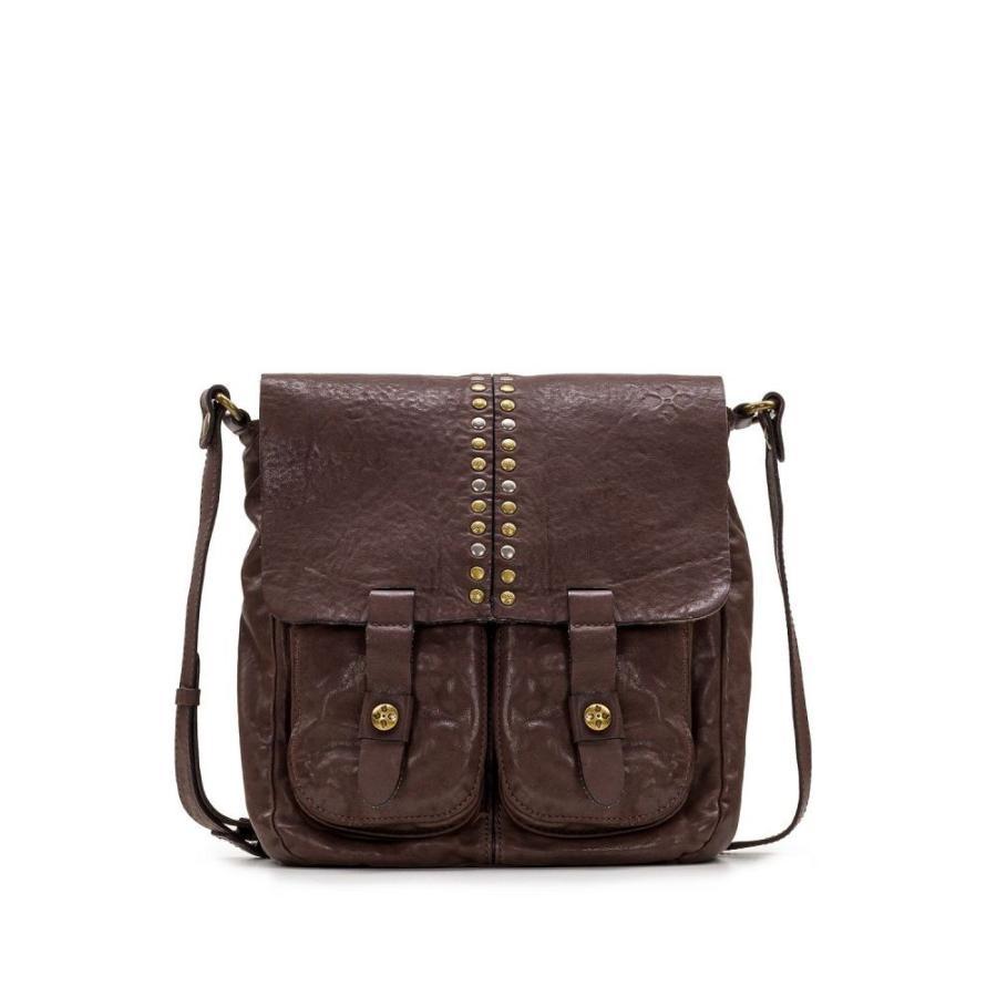 【感謝価格】 パトリシア ナッシュ Patricia Nash レディース ショルダーバッグ バッグ Armeno Vintage Washed Leather Crossbody Chocolate/Gold, TAYU-TAFU 3d385316