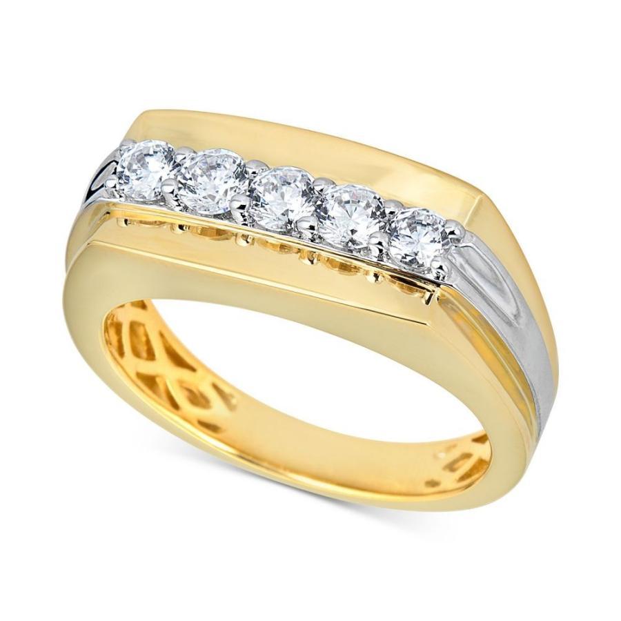 公式サイト メイシーズ Macy's ユニセックス & 指輪・リング White ジュエリー Ring・アクセサリー Diamond Cluster Ring (3/4 ct. t.w.) in 10k Gold & 10k White Gold Two-Tone, 米沢市:900f5b80 --- airmodconsu.dominiotemporario.com