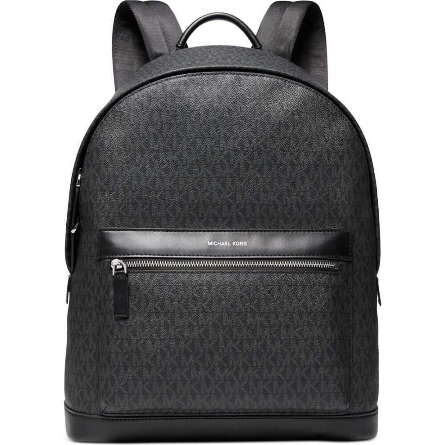 マイケル コース Michael Kors メンズ バックパック・リュック バッグ Mason Explorer Signature Backpack Black|fermart-shoes