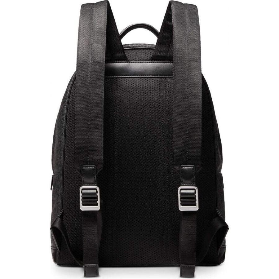 マイケル コース Michael Kors メンズ バックパック・リュック バッグ Mason Explorer Signature Backpack Black|fermart-shoes|02