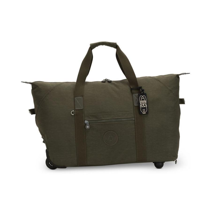 キプリング Kipling レディース スーツケース・キャリーバッグ バッグ Art On Wheels Suitcase Jaded 緑/銀