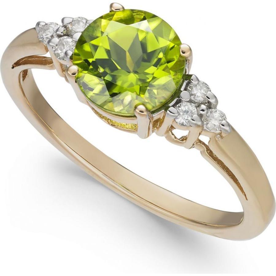 【返品?交換対象商品】 メイシーズ Macy's ユニセックス 指輪・リング ジュエリー・アクセサリー Peridot (1-1/2 ct. t.w.) & Diamond Accent Ring in 14k Gold Peridot, 有限会社 ピエロ 82796b08