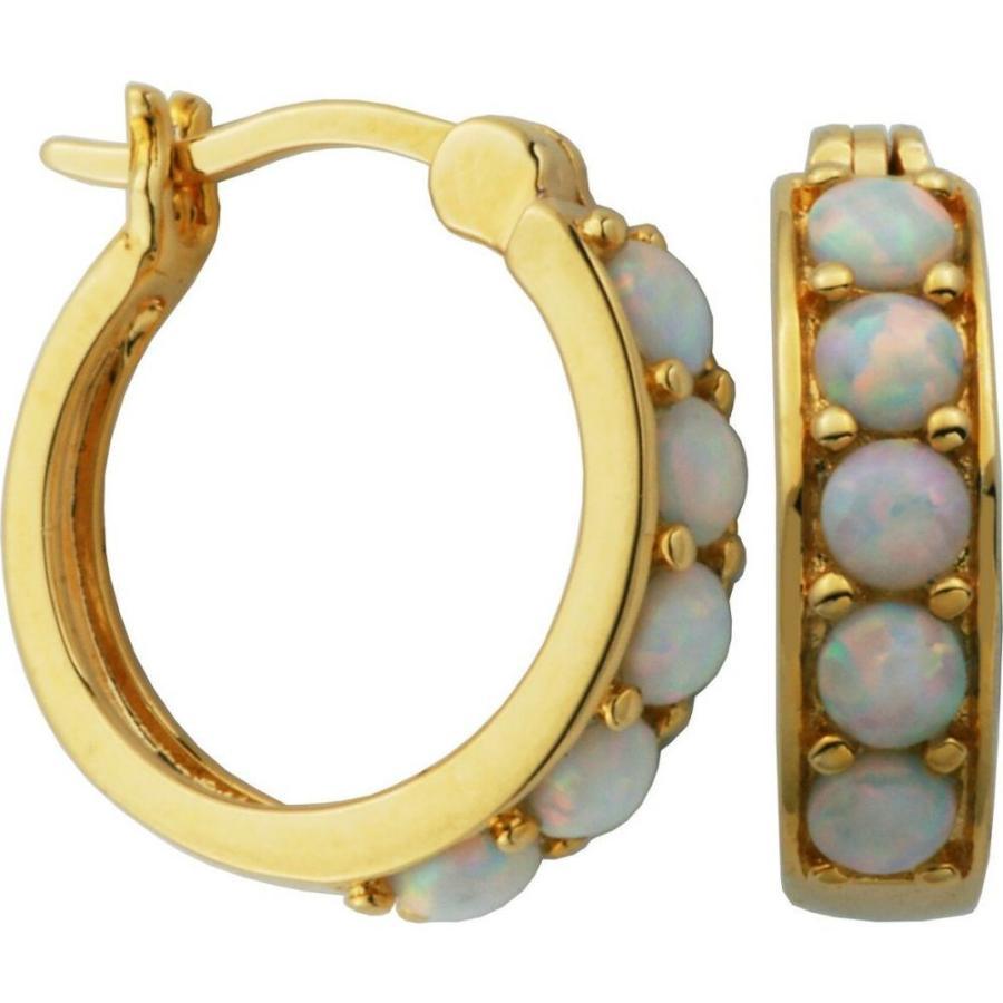 男女兼用 メイシーズ Opal Macy's レディース イヤリング・ピアス ジュエリー・アクセサリー over 18K Hoop Gold over Sterling Silver with Lab Created Opal Hoop Earrings Asst, 【希少!!】:e4c63f60 --- airmodconsu.dominiotemporario.com