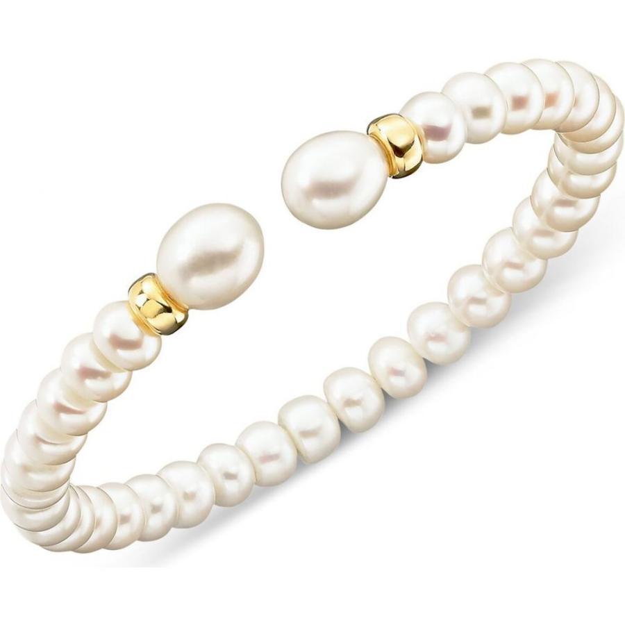 信頼 メイシーズ Macy's レディース in ブレスレット (7mm) ジュエリー・アクセサリー Cultured Freshwater Macy's Pearl (7mm) Rondelle Bracelet in 14k Gold No Color, 【限定品】:fd4c6d45 --- airmodconsu.dominiotemporario.com