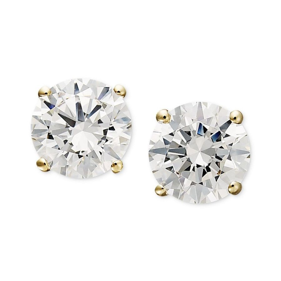 安い購入 アラベラ Arabella Arabella Earrings, レディース イヤリング・ピアス ジュエリー (1-3/4・アクセサリー 14k Gold Earrings, Swarovski Zirconia Round Stud Earrings (1-3/4 ct. t.w.), ペイントジョイ:0d977cb1 --- airmodconsu.dominiotemporario.com