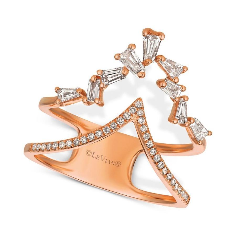 世界有名な ル ヴァン Le Vian レディース 指輪・リング ジュエリー・アクセサリー Baguette Frenzy Diamond Double
