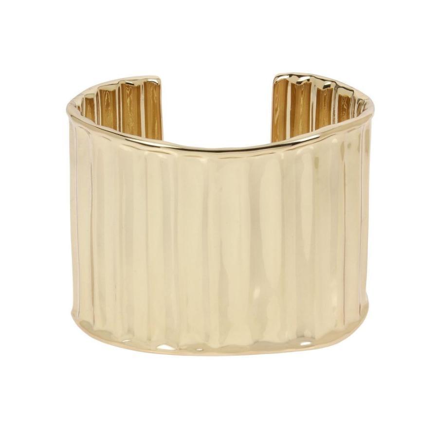 【着後レビューで 送料無料】 ロバート リー モーリス Cuff ブレスレット Bracelet Robert Lee Morris Soho レディース ブレスレット ジュエリー・アクセサリー Textured Wide Cuff Bracelet Gold, 新車選び.COM:217f82e3 --- sonpurmela.online