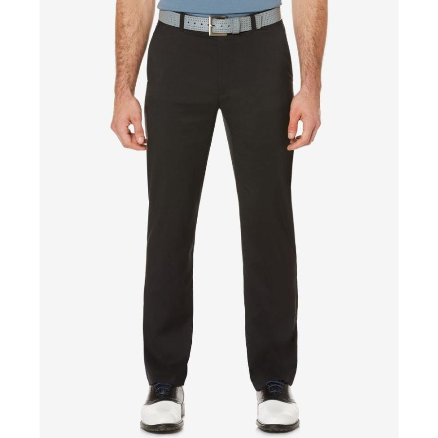 ピージーエーツアー PGA TOUR メンズ ボトムス・パンツ ゴルフ Flat-Front Golf Pants 黒