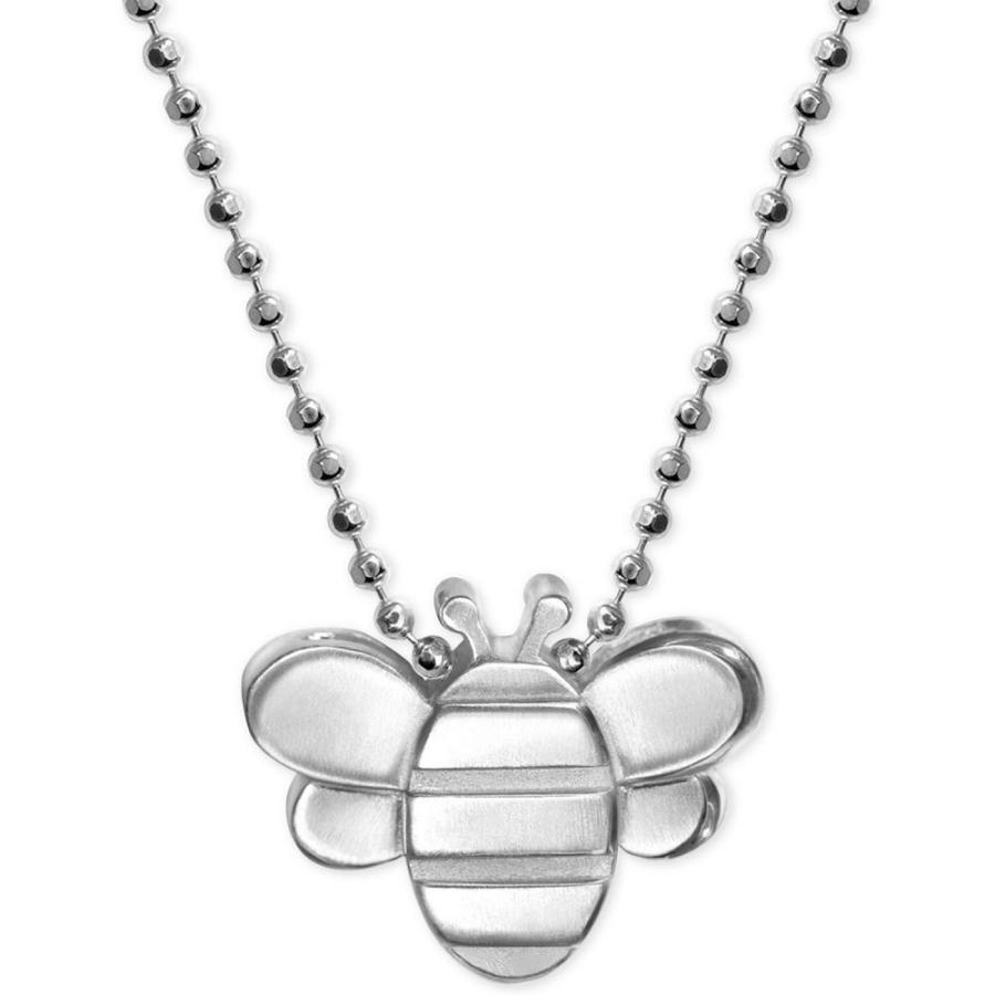 【超特価】 アレックス ウー Alex Woo ユニセックス ネックレス ジュエリー・アクセサリー Bumble Bee Pendant Necklace in Sterling Silver Silver, Shop Online DOBLE 72dc24f4