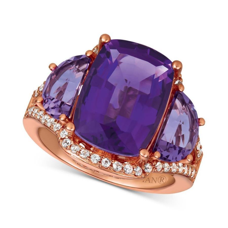 リアル ル ル ヴァン Le Vian ユニセックス Sapphire 指輪 Ring・リング アメジスト Amethyst (7-3/8 ct. t.w.) & White Sapphire (1/4 ct. t.w.) Ring in 14k Rose Gold Amethyst, 韓Love:2a7e91c1 --- airmodconsu.dominiotemporario.com