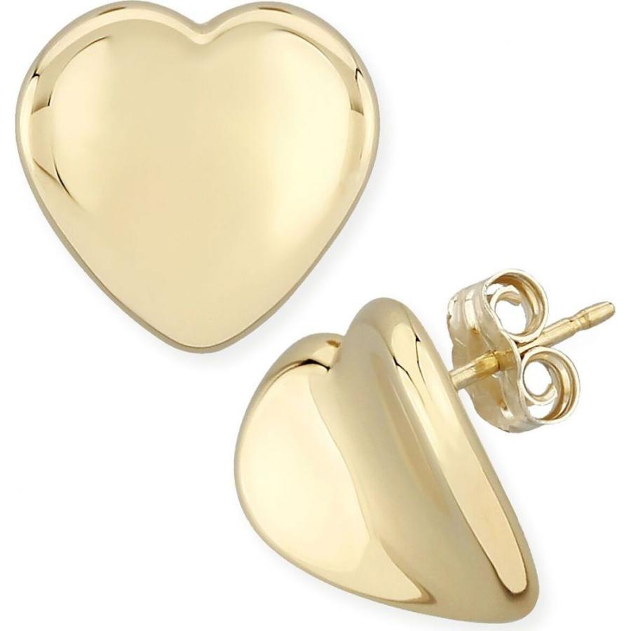 大勧め メイシーズ Macy's レディース in イヤリング 14k・ピアス Gold ハート ジュエリー・アクセサリー Dapped Heart Stud Earrings Set in 14k Gold Gold, 訳あり商品:ba69f40a --- airmodconsu.dominiotemporario.com