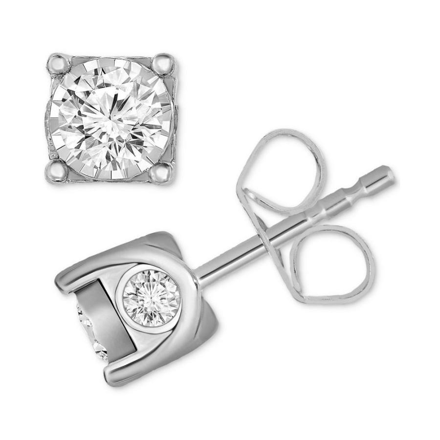 最高の品質 トゥルーミラクル (3/8 White TruMiracle Earrings ユニセックス イヤリング・ピアス Diamond Stud Earrings (3/8 ct. t.w.) in 14k Gold, White Gold or Rose Gold White Gold, ドラッグフォーユーネットショップ:36ba7043 --- odvoz-vyklizeni.cz