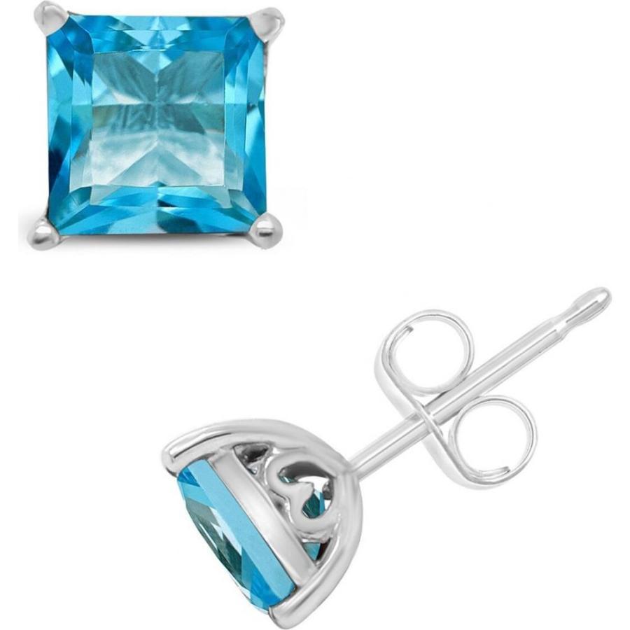 日本に メイシーズ Macy's メンズ イヤリング・ピアス Blue Topaz (2-7/8 ct. t.w.) Stud Earrings in Sterling Silver. Also Available in Amethyst (2-1/6 ct. t.w.), あかりと電球のランプメンテナンス e2c62734