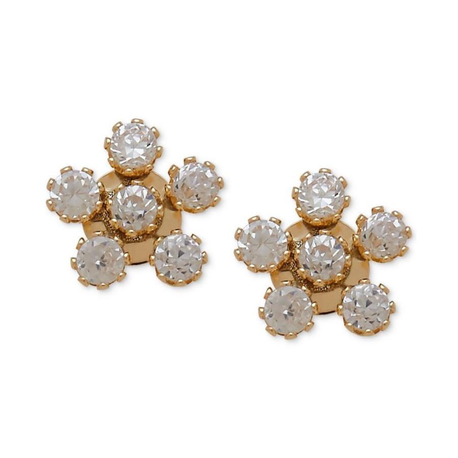 お気に入りの メイシーズ Macy's レディース イヤリング・ピアス ジュエリー・アクセサリー Children's Cubic Zirconia Flower Stud Earrings in 14k Gold No Color, 板取村 8ba6f969